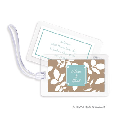 Luggage Tags - Silo Leaves