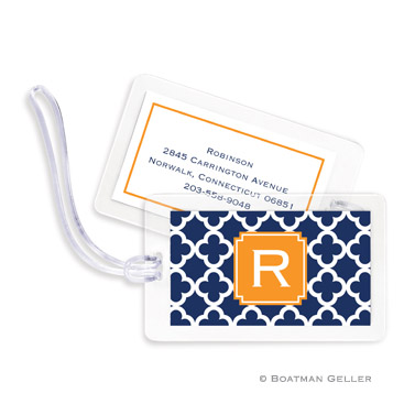 Luggage Tags - Bristol Tile