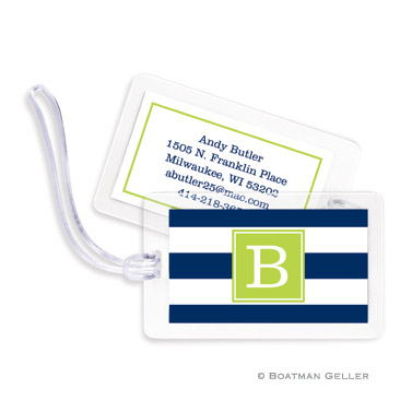 Luggage Tags - Awning Stripe
