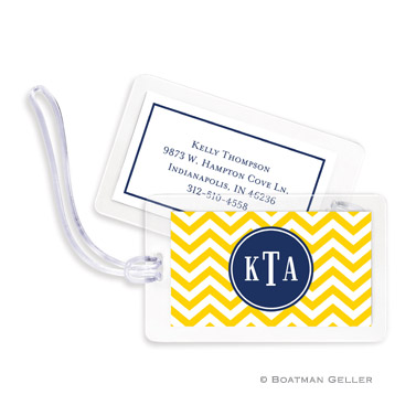 Luggage Tags - Chevron