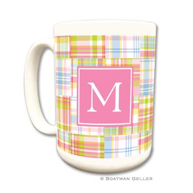 Mugs - Madras Patch Pink