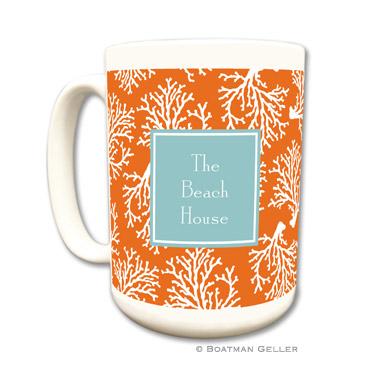 Mugs - Coral Repeat