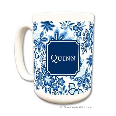 Mugs - Classic Floral Blue