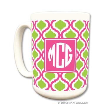 Mugs - Kate Raspberry & Lime