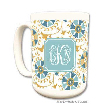Mugs - Suzani Gold