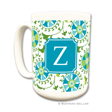 Mugs - Suzani Teal
