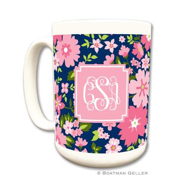 Mugs - Caroline Floral Pink