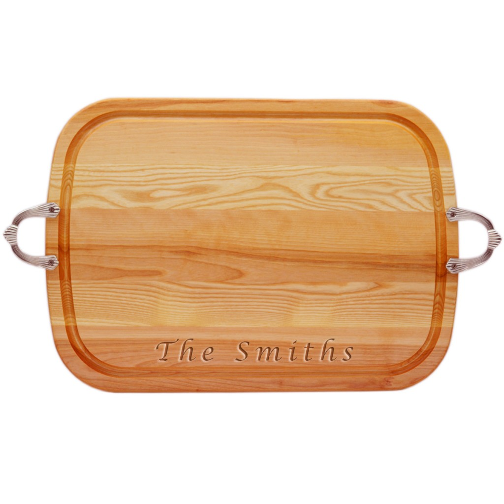 Everyday Collection: Large Serving Tray with Nouveau Handles