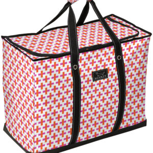 Zip Top Large Tote Bag