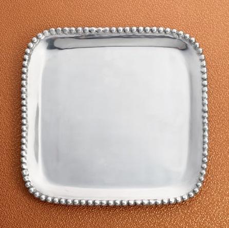 Beaded Platter - Square