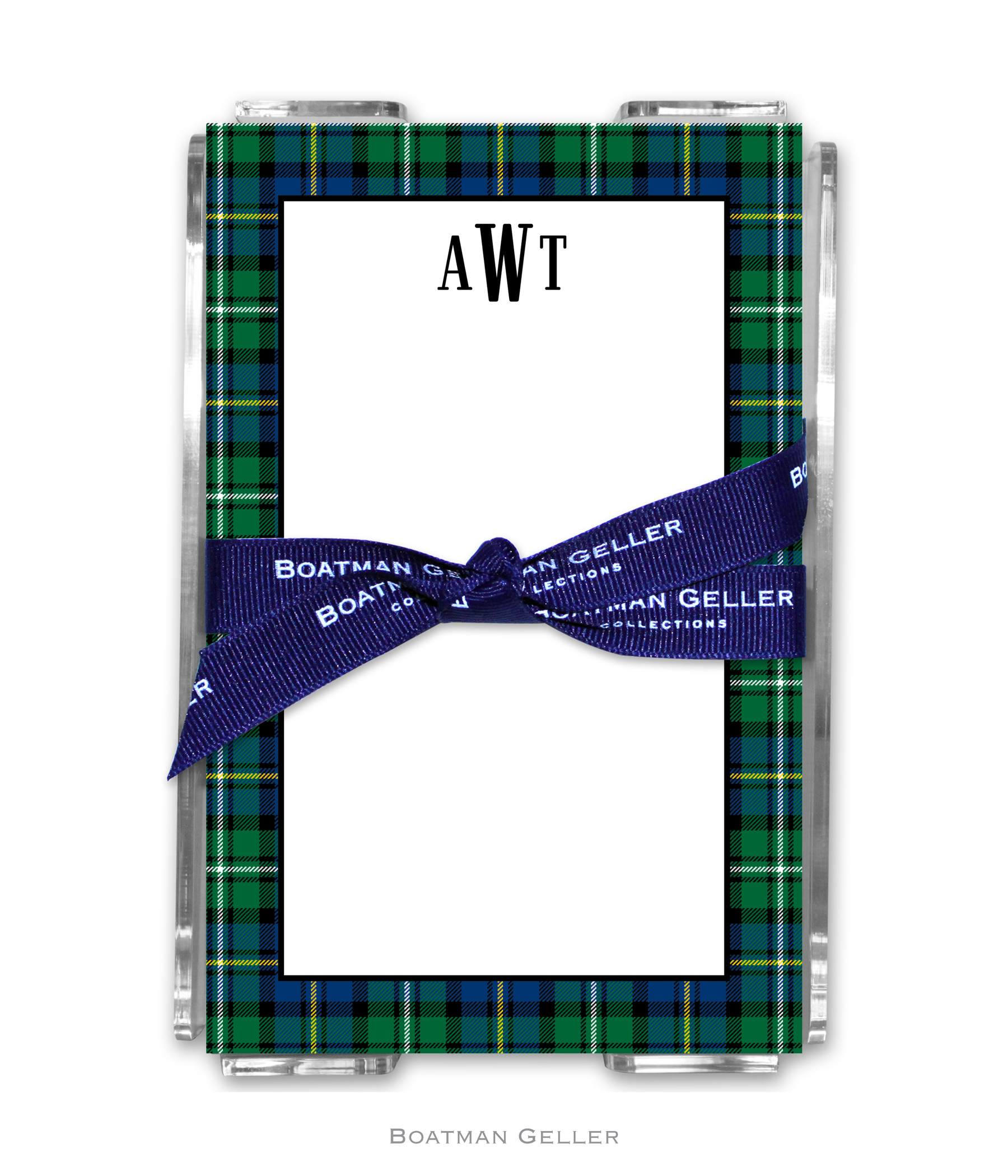 Note Pads - Black Watch Plaid
