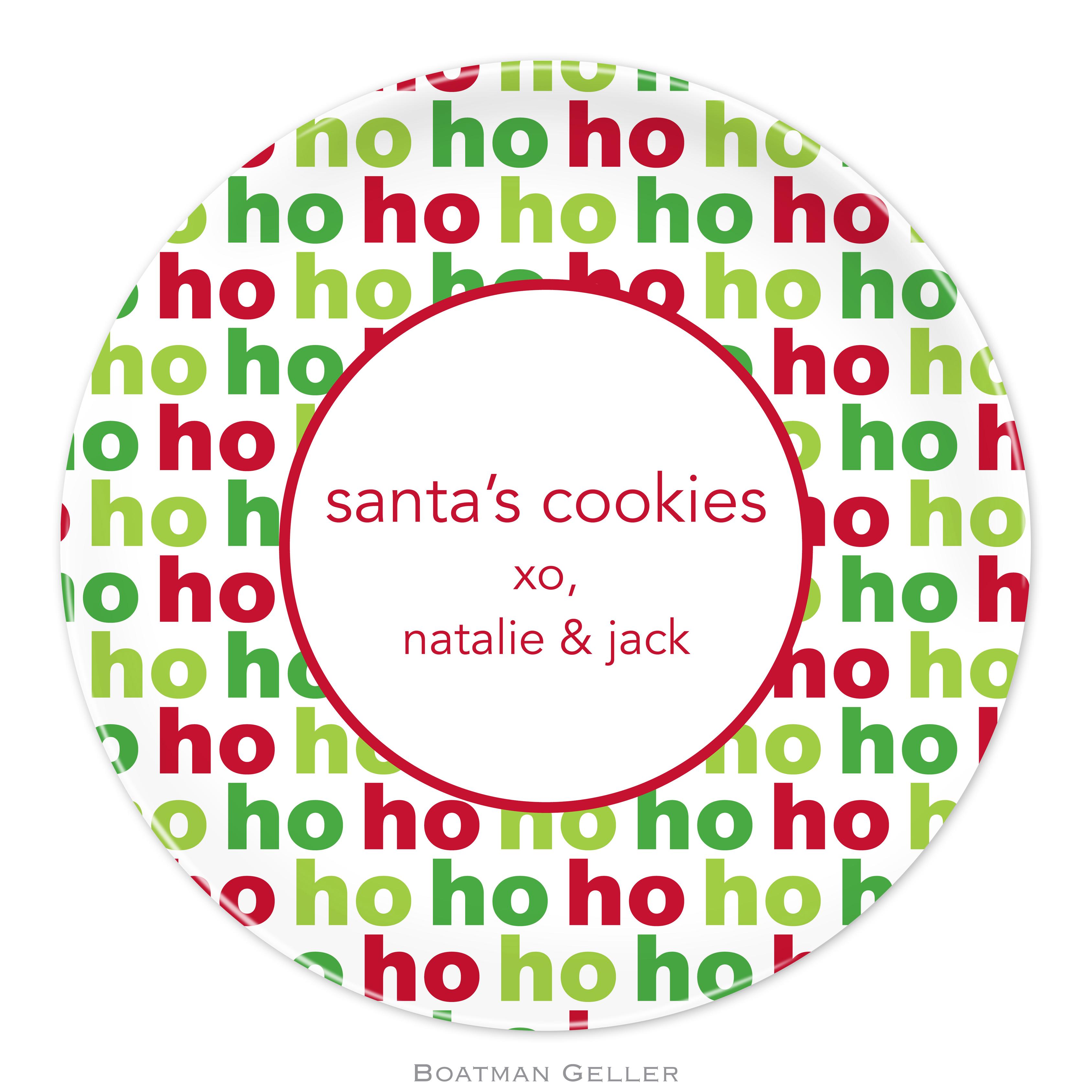 """Plates 10"""" - Ho Ho Ho"""