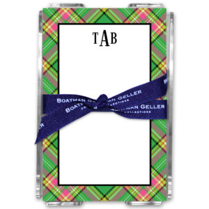 Note Pads - Preppy Plaid