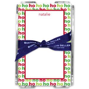 Note Pads - Ho Ho Ho