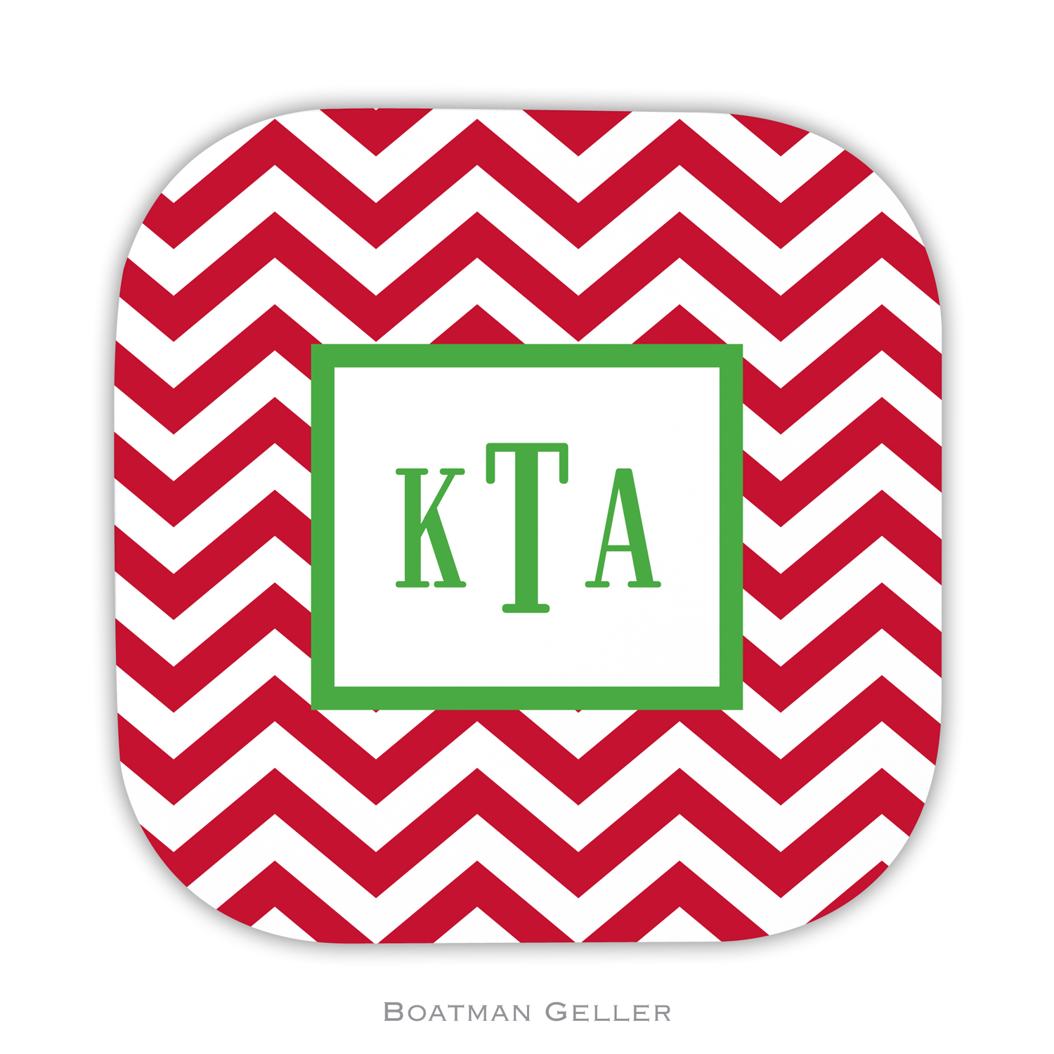 Coasters - Chevron Red