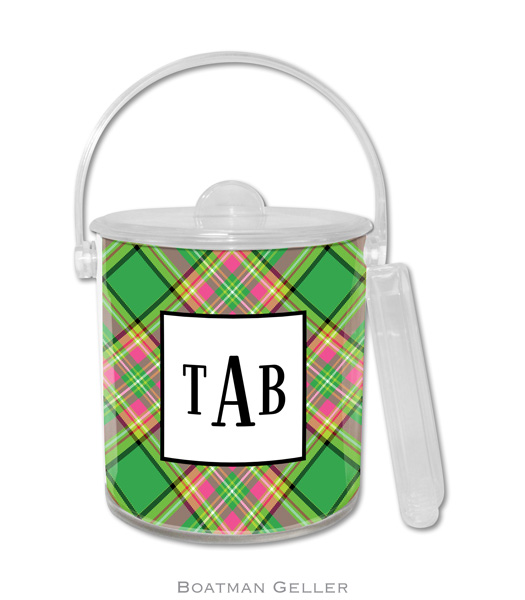 Ice Bucket - Preppy Plaid