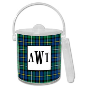 Ice Bucket - Black Watch Plaid