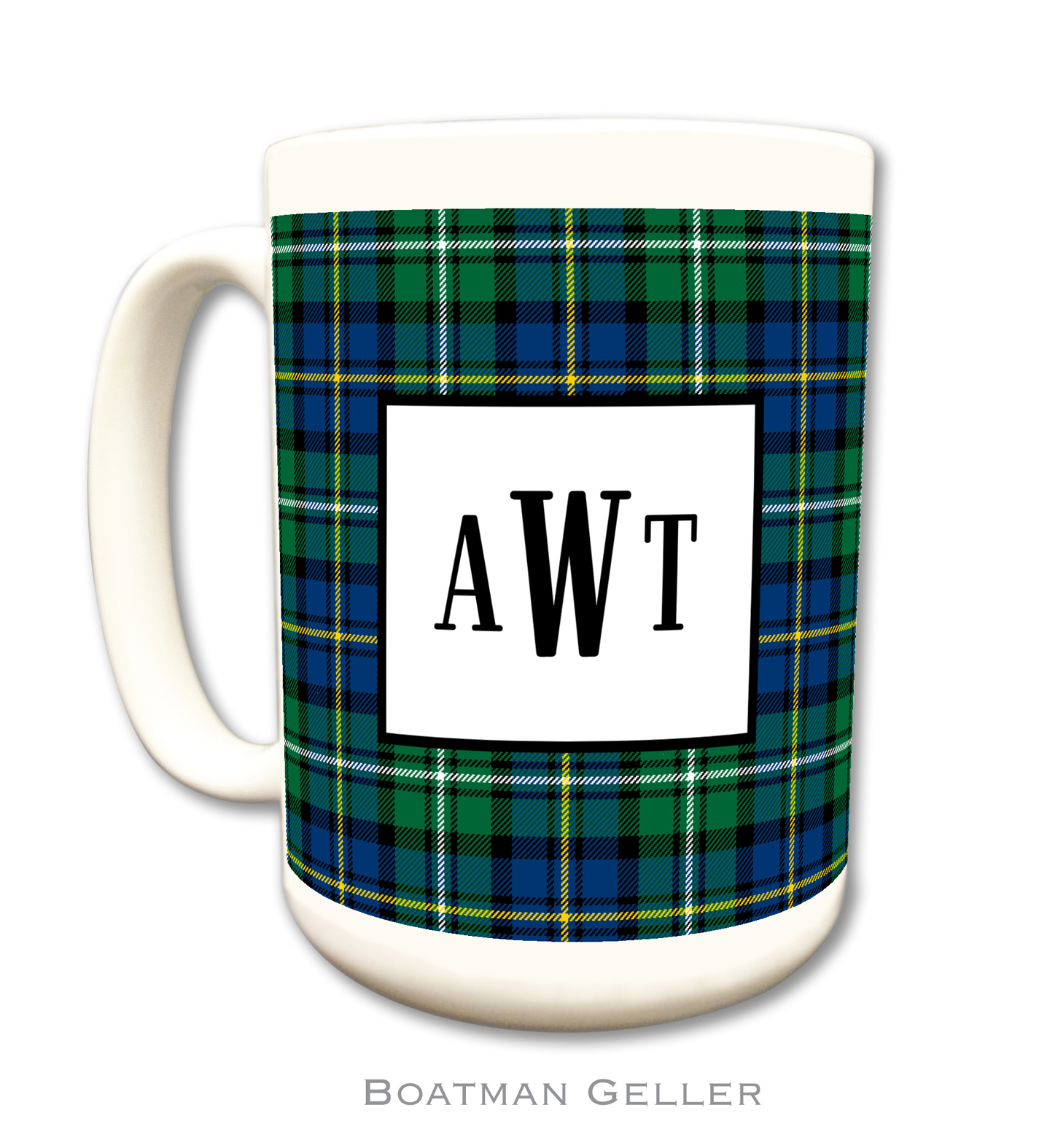 Mug - Preppy Plaid