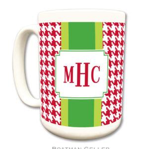 Mug - Plaid Red