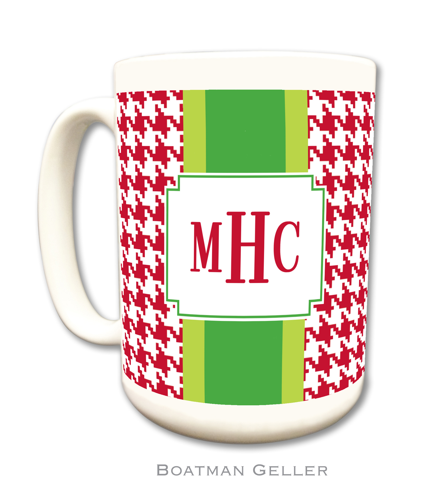 Mug - Plaid Red