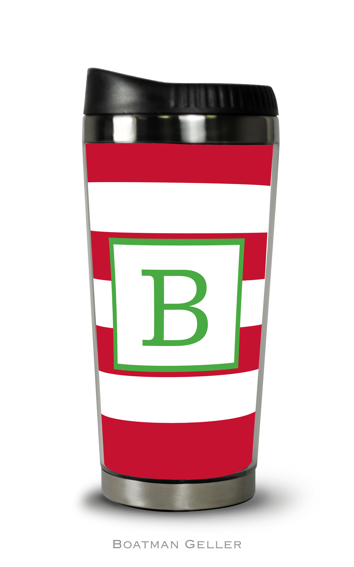 Travel Tumbler - Awning Stripe Red