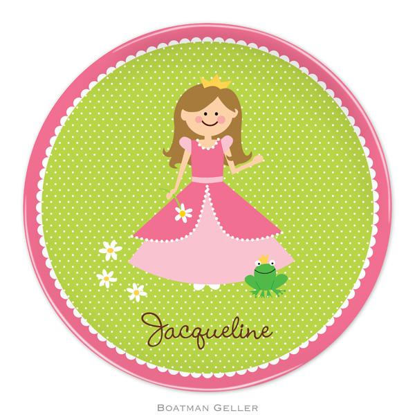 Plate-Princess Portrait